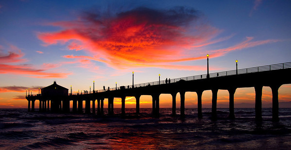 Manhattan Beach Sunet 9.7.12