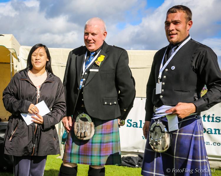 Scottish Backhold Wrestling Prize Winner - Mandy Li