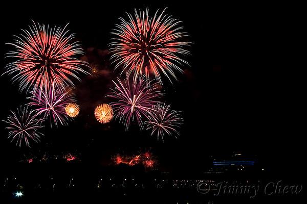 Putrajaya Fireworks 2007