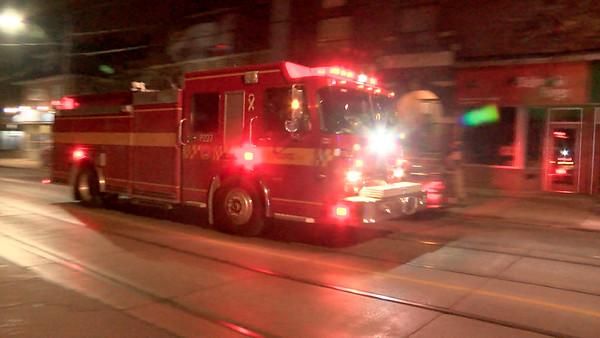 October 16, 2014 - Working Fire - 2222 Queen Street East