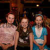 Three young girls at the Fashion Show, 07W13N59