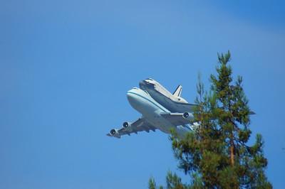 Space Shuttle Flyover