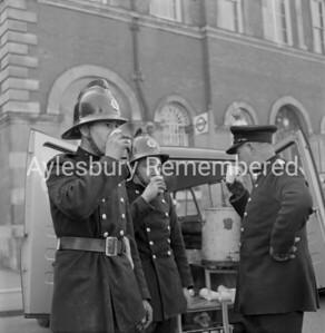 Town Hall fire, Mar 1962