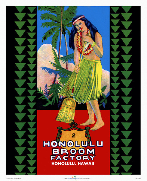 Hawaiian Days Collection™ of Vintage Prints (Standard Quality)