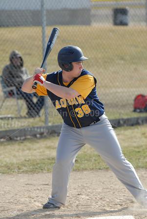 varsity baseball at pearl city . 4.9.14