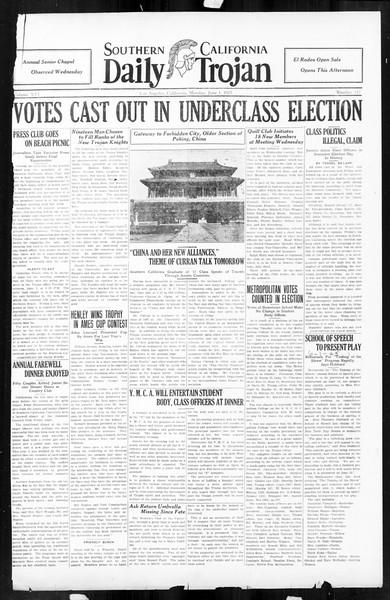 Daily Trojan, Vol. 16, No. 117, June 01, 1925