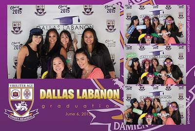 Dallas Graduation (LED Open Air Photo Booth)