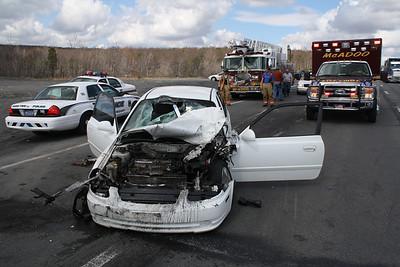 Vehicle Accident, Mile Hill, SR309, Kline Township (3-20-2012)
