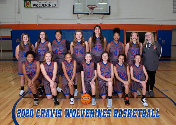 2020 Chavis Team - Girls