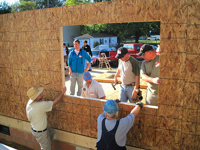 Apostles Build Wall Raising