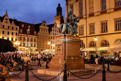 Wroclaw by nite