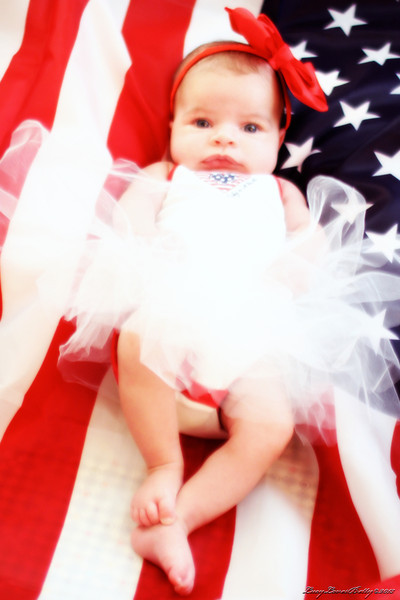 Sophia's First Fourth