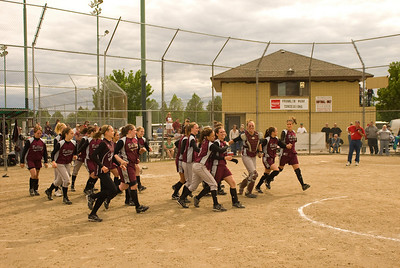 state 1A playoff for first place ........... Montesano High School vs. Castle Rock High School, May 24, 2008     TROPHY PHOTOS