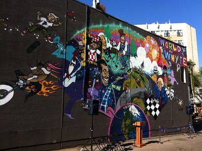 Giants of Edmonton: Mural Program