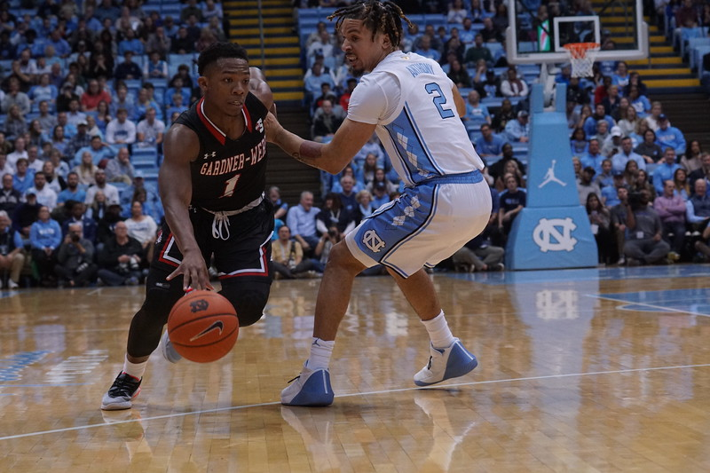 MBB plays UNC at Chapel Hill
