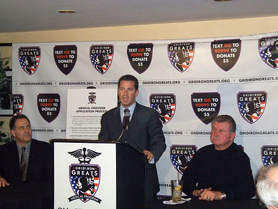 Gridiron Greats Medical Press Conference