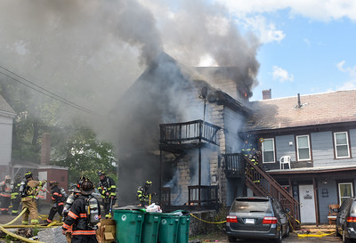 4 Alarm Structure Fire - Kimball St, Fitchburg, Ma - 5/23/21