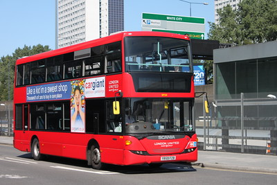 London Buses not in Service