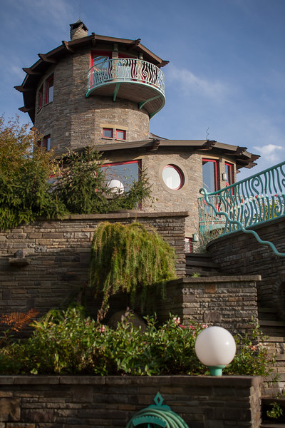 The Spiral House of Tom Gottsleben in Saugerties, NY