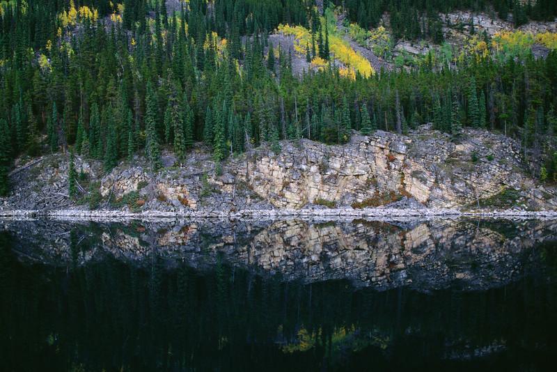 Horseshoe lake - Jasper national park, Alberta