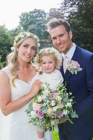 Sally and Tristan's wedding photography highlights Rivington Hall Barn