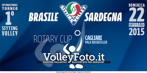BRASILE-SARDEGNA Torneo Int.le Sitting Volley CAGLIARI