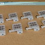 SKU: F-INK/DAMPER/DX5, A Set of 8 Solvent Resistant Plastic One-way Flow Control Ink Dampers ( Dumper ) for EPSON DX5 Printhead