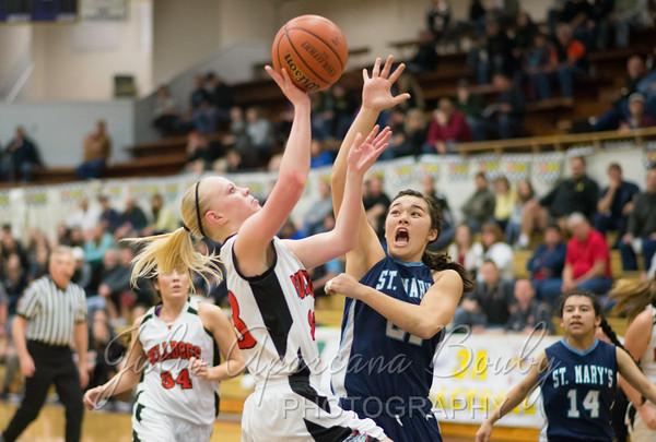 130301 3A Basketball Championships - Girls Semi Finals