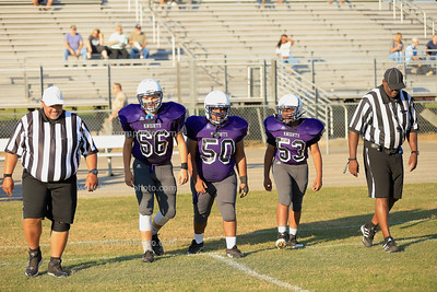 West Bladen 19 North Brunswick jv football