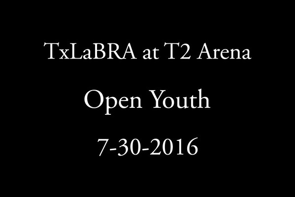 7-30-2016 TxLaBRA Open Youth