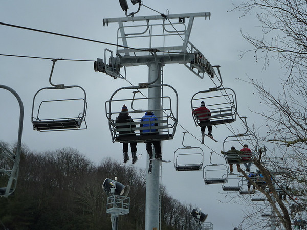 2012-1-20/1-22 Skiing at Cataloochee