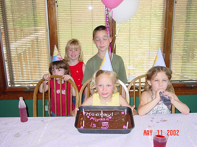 2002 Alyssa Birthday