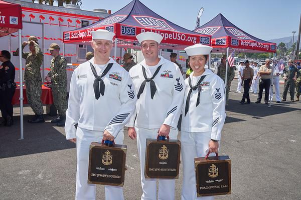 Bob Hope USO- Fleet Week Day Three