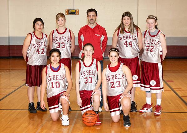 SNMS Girls Basketball 2009-2010