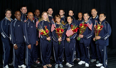2008 USA Olympic Judo Portraits