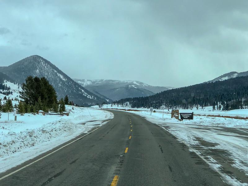US 191 Yellowstone Entrance