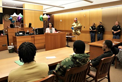Second Misdemeanor Mental Health  Court Graduation