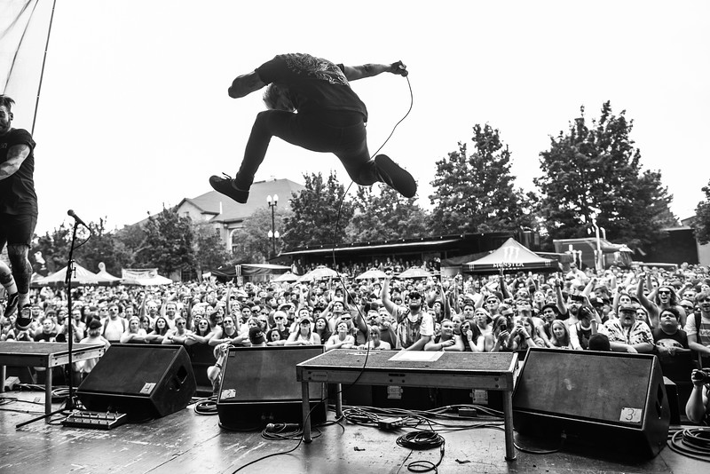 The Word Alive in Salt Lake City, UT on Vans Warped Tour 2016