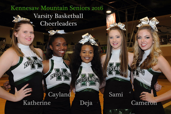 KMHS Basketball Cheer 2016