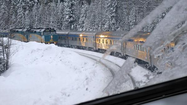 Winter Rail Trip February 1-19 2018