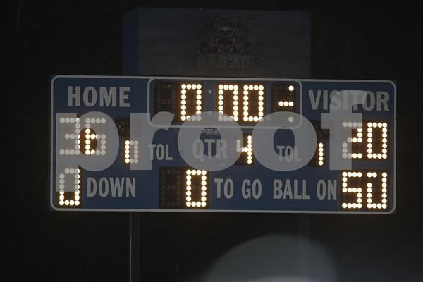 Varsity-Oak Grove vs Harrisonville 10-10-08
