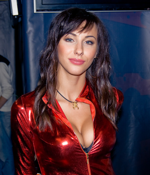 Crytek booth-babe from Games Territory 2008
