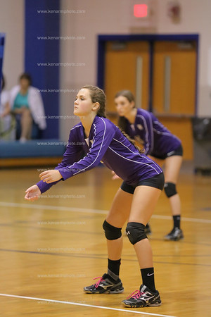 East Bladen volleyball Hiede Trask 2015