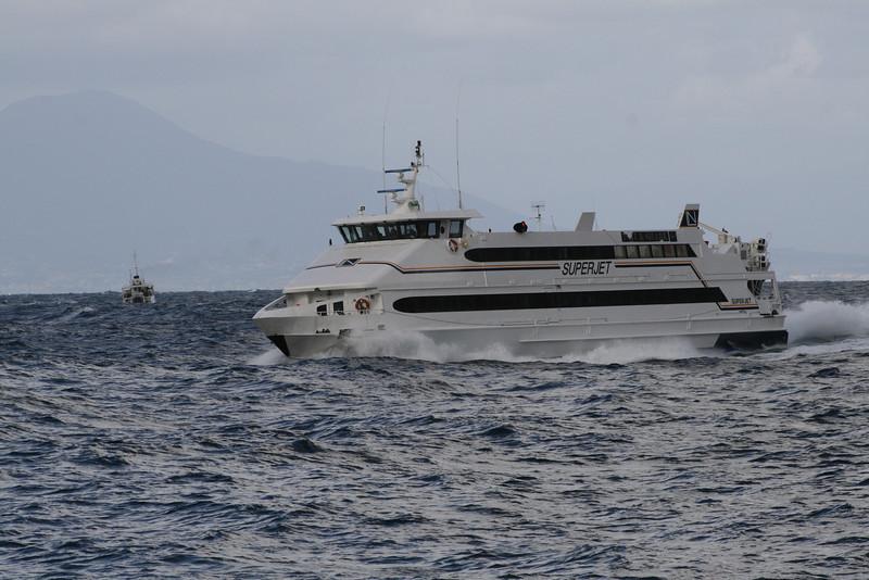 2008 - HSC SUPERJET on a bad sea.