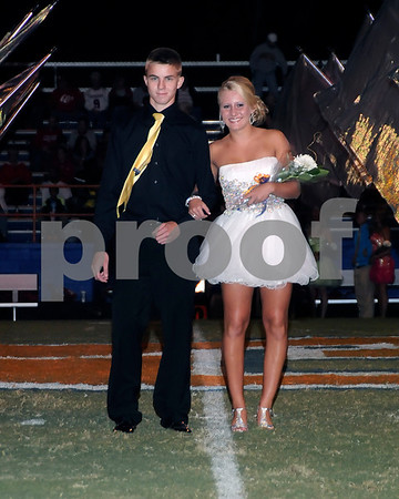 Marshall County High School Fall Homecoming Queen Coronation, September 14, 2012. Keri Gilcrist Was Crowned Queen.