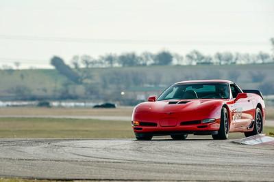 #119 Red C5 Corvette Z06
