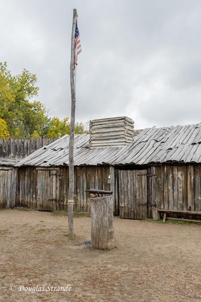 Buildings at Fort Mandan