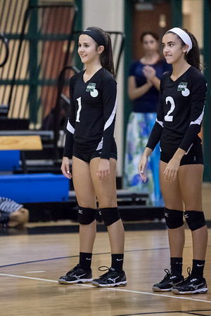 8-24-2017: Varsity Girls Volleyball- CSN vs SJN