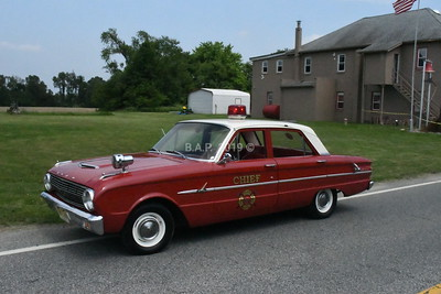 Mayberry N.C. Ford Fire Cheif's Car