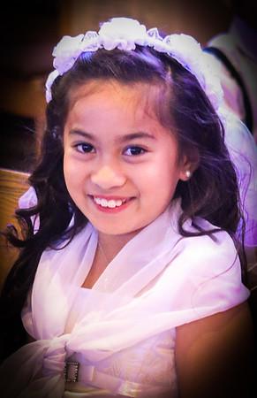 Jasmin 1st Communion